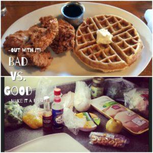 waffle vs meal prep_Fotor