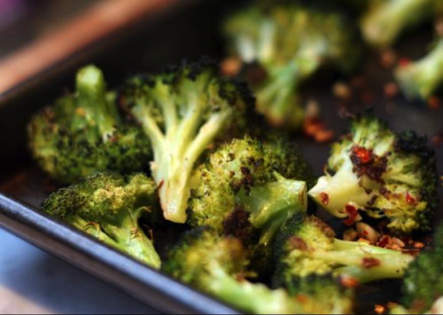 blasted broccoli