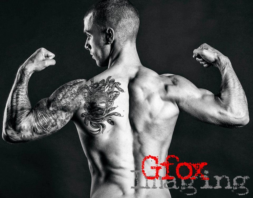 double back bicep
