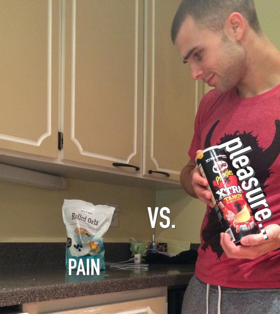 pain vs pleasure