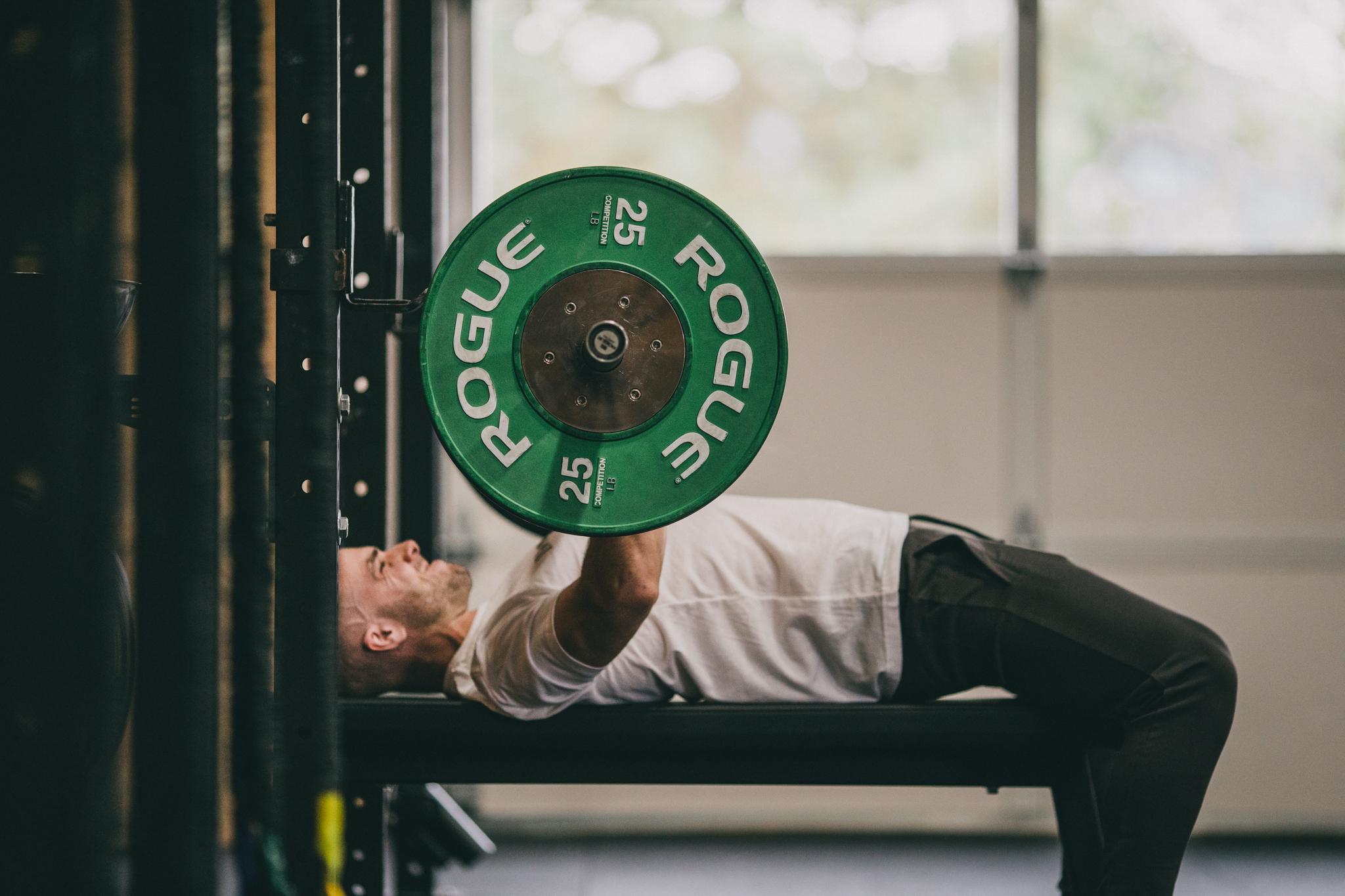 Cody Bench Pressing