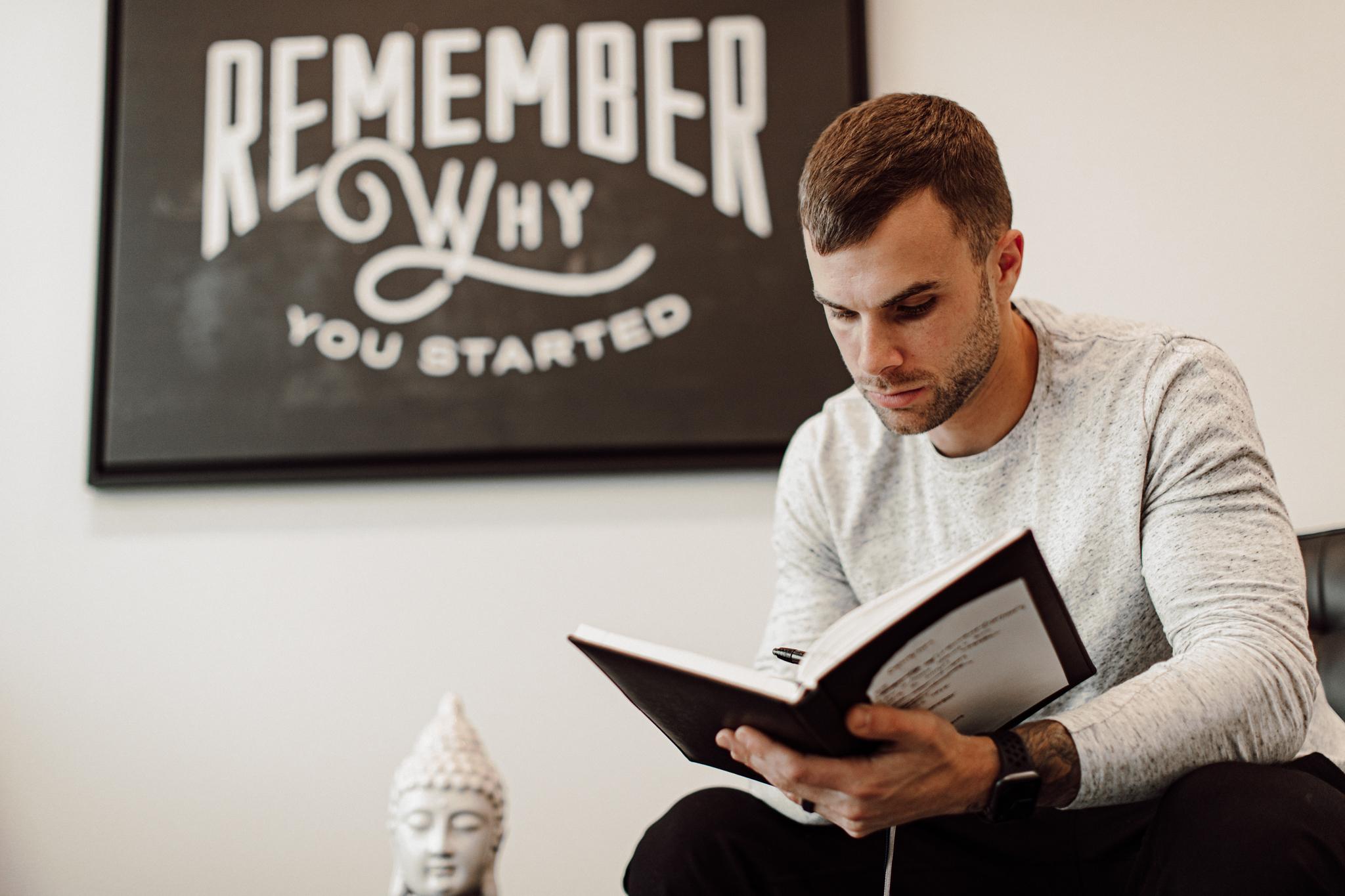 Cody journaling